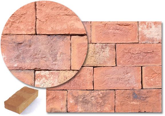 Chartwell Red Multi Stock Pavers (H06T)