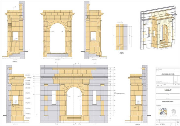 Calverley Porch Elevations
